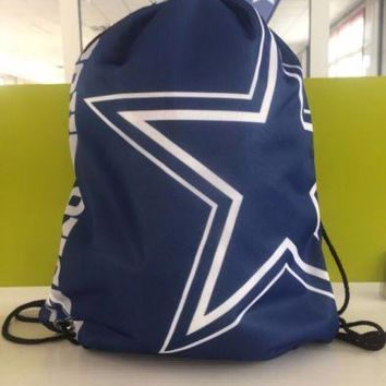 Hot Item.  NFL Team Flag Backpacks with Metal Grommets. Several to choose from