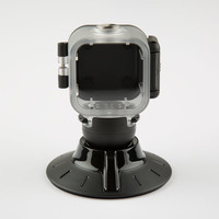 Polaroid Cube Waterproof Case + Suction Mount Black One Size For Men 25270810001