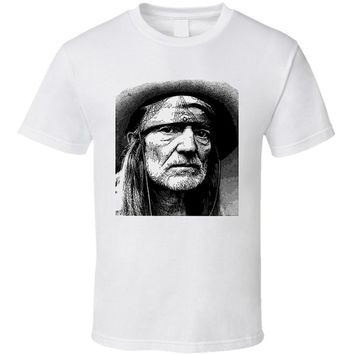 Willie Nelson Cool Country Singer T Shirt