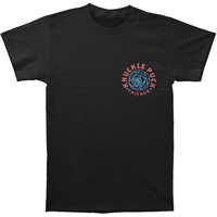 Knuckle Puck Men's  Rose T-shirt Black Rockabilia