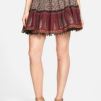 Women's Band of Gypsies Mix Print Skirt