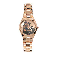Disney Beauty And The Beast Belle Rose Gold Watch