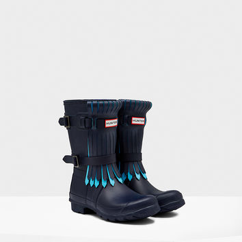 Women's Original Short Fringe Rain Boots | Hunter Boot Ltd