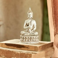 Seated Buddha in White