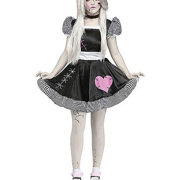 Adult Broken China Doll Costume - Spirithalloween.com