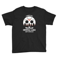 crystal lake camp counselor Youth Tee