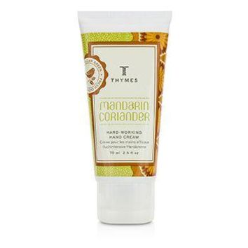 Thymes Mandarin Coriander Hard Working Hand Cream Ladies Fragrance