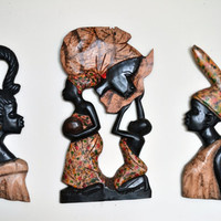 African Art, African American Art, Mother Africa, Wood Carvings, Afrocentric Art, Authentic African Art, Queen Mother, African Chief, Africa