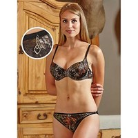 Wilderness Dreams Women's Camo Padded Bra with Charm