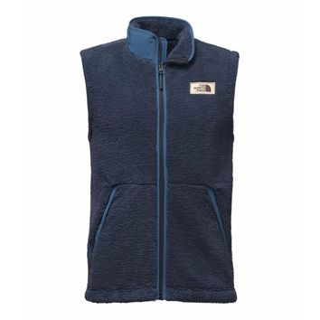 Men's Campshire Sherpa Vest in Urban Navy by The North Face