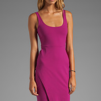 Susana Monaco Wrap Tank Dress in Fuchsia