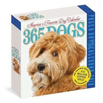 365 Dogs Desk Calendar, More Dogs by Workman Publishing
