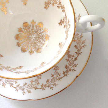 English Bone China Royal Grafton Teacup and Saucer Elegant Tea Party Wedding, Thank You or Housewarming Gift Inspiration