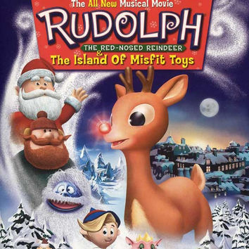 Rudolph the Red-Nosed Reindeer & the Island of Misfit Toys 11x17 Movie Poster (2001)