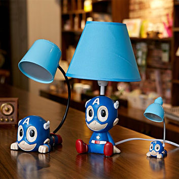 Creative Cartoons USB LED Lights Children Gifts Lamp [6283328518]