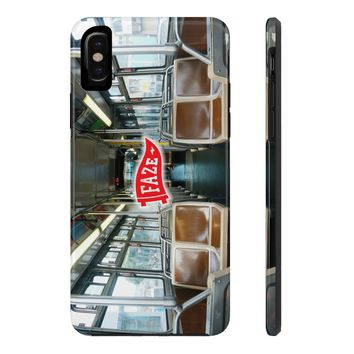 **Online Exclusive** Bus Hoppin' Tough iPhone X Phone Case