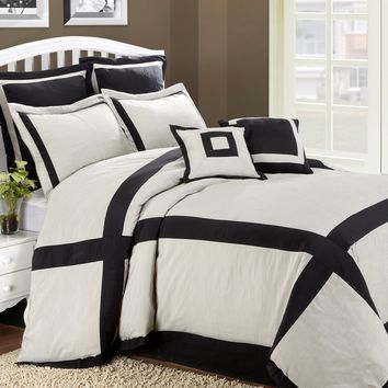 HFI Hotel Intersection 8 Piece King Comforter Set