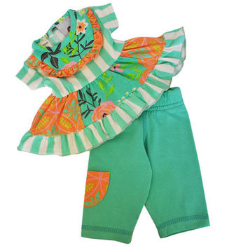 AnnLoren Demask Legging/Tunic DOLL SET