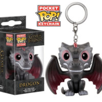 Funko Pocket Pop Keychain: Game of Thrones - Drogon