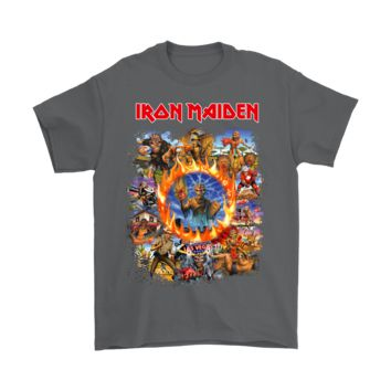 PEAPINY Iron Maiden Eddie The Head Album Covers Shirts