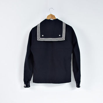 1988 US Navy Wool Jumper / New with Tag / Tennessee Apparel Corp. / DLA100-88-C-0461 / Size 38R