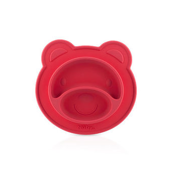 Nuby Sure Grip Miracle Mat Section Plate - Coral