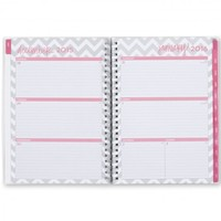 """Dabney Lee """"Ollie"""" Weekly/Monthly 5.875 x 8.625 Planner Notes, Jan 2016 - Dec 2016"""
