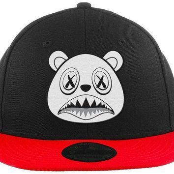 Ghost Baws - New Era 9Fifty 2T Black/Red Snapback Hat