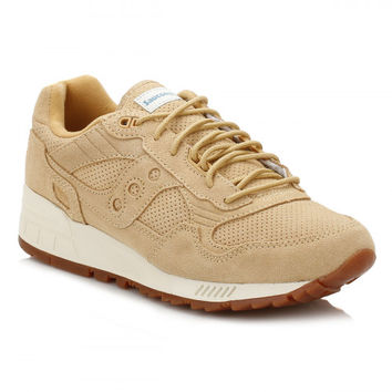 Saucony Mens Wheat Shadow 5000 Trainers