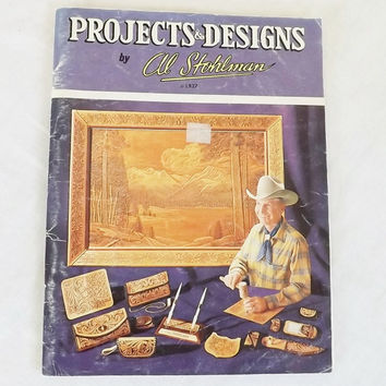 Leather Craft Pattern Book Projects and Designs