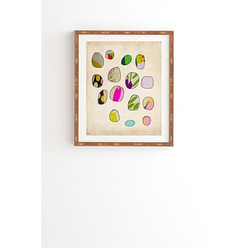 Natalie Baca Circles In Spring Framed Wall Art