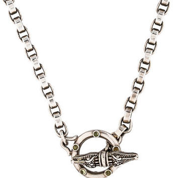 Barry Kieselstein-Cord Alligator Link Necklace