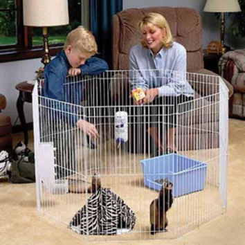 Marshalls Small Animal Playpen - Cages, Habitats & Hutches - Small Pet - PetSmart
