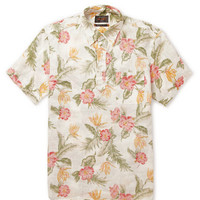 Beams Plus - Printed Linen Shirt | MR PORTER