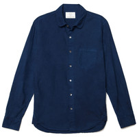 Hemp Button Down - Dark Indigo - Portland, Oregon - Olderbrother