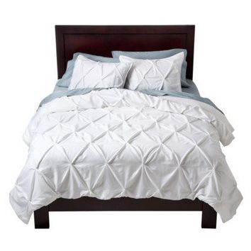 Target Home™ Pinched Pleat Comforter Set - White