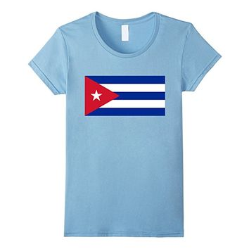 Authentic Cuban Flag T-Shirt