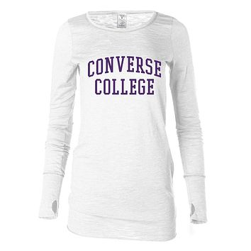 NCAA Converse Valkyries 03CCV-1 Women's Long Sleeve Thumbhole Tee