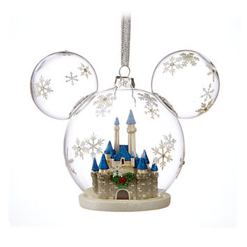 Mickey Mouse Fantasyland Castle Ornament | Disney Store