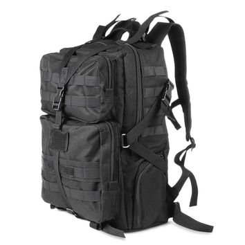 45L Military Tactical Backpack Bag Multifunction Sport Bag Molle Tactical Camouflage Water Resistant Backpack for Outdoor
