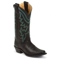 Justin Women's L4327 Waxy Cow Square Toe Boots
