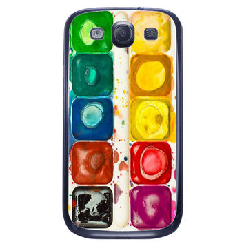 Watercolor Set Samsung Galaxy S3 Case
