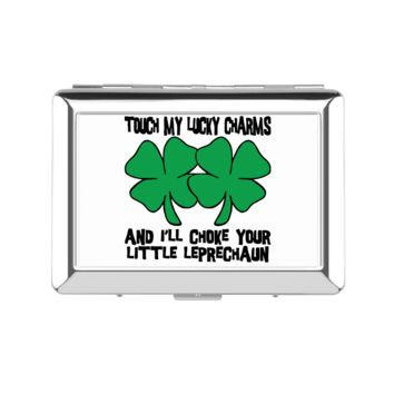 My Lucky Charms Lady's Cigarette Case - Lady's Cigarette Case