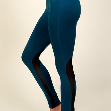 Get The MESHage Leggings Teal