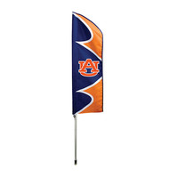 Auburn Tigers NCAA Swooper Flag w- Pole