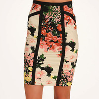 Darling Floral Pencil Skirt