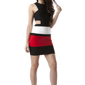 The Colorblock is Hot Dress