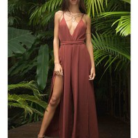 Hamshire Jumpsuit - Burnt Orange - JUMPSUITS - ONE PIECE - SHOP NEW