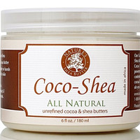 Organic, All Natural Coco-shea Butter 6 Oz Moisturizing Anti-aging