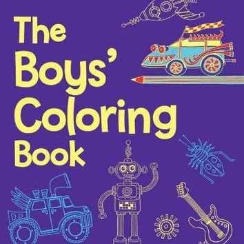 The Boys' Coloring Book CLR CSM